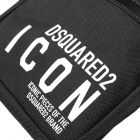 DSquared DSquared Cross Body Bag - Black 21353CP -4