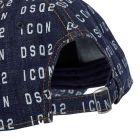 DSquared Cap Denim - Blue 21986CP -3