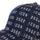 DSquared Cap Denim - Blue 21986CP -4