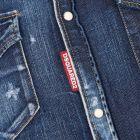 Denim Shirt Distressed - Blue