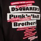 Sweatshirt Punk N Roll - Black