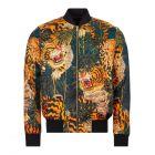 DSquared Jacket Tiger Print  - Black / Orange  21787CP -1