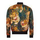 DSquared Jacket Tiger Print  - Black / Orange  21787CP -2