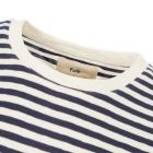 T-Shirt – Ecru / Navy Stripe