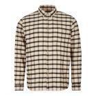 folk shirt FM5229S ECRU ecru / black