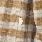 Shirt Storm - Tan Linear Check