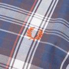 Twill Check Shirt - Blue