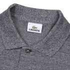 Lacoste Marl Polo shirt in navy blue