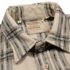 Levi's Vintage Shirt 1950s Longhorn in Ecru Wool