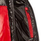 Jacket Anthime - Black / Red / White