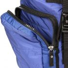 Quilted Backpack - Blue