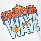 T-Shirt Swoosh - White