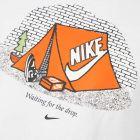 T-Shirt Logo – White / Orange
