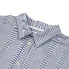 Oswald Shirt - Luminous Blue Seersucker