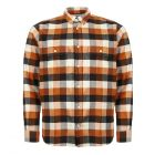 norse projects villads shirt N40 0474 4035 signal orange