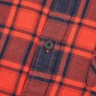 Flannel Shirt - Red / Navy