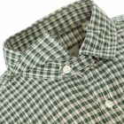 Oliver Spencer Shirt Clerkenwell Tab - Green 21955CP -3