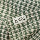 Oliver Spencer Shirt Clerkenwell Tab - Green 21955CP -4