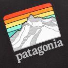 Patagonia T-Shirt Ridge Logo Pocket Responsibili - Black 21862CP -4