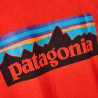 P6 Logo T-Shirt - Fire Red