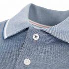 Polo Shirt - Blue / White