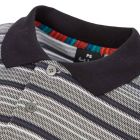 Polo Shirt Stripe - Slate