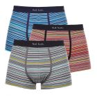 Paul Smith Accessories 3 Pack Trunks – Mix Stripes 21278CP -1