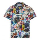 Paul Smith Short Sleeve Casual Shirt   M2R 832T F21236 92 Multi