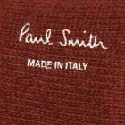Paul Smith Wool And Cashmere-Blend Socks in Rust