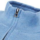 Half Zip Sweater – Blue