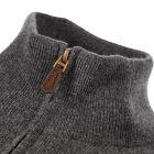 Half Zip Sweater – Grey