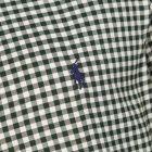 Shirt - Green / White Check
