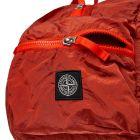Duffel Bag Nylon Metal - Bright Orange