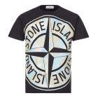 Stone Island Big Loom T-Shirt   Black 721523388 V0029   Aphrodite