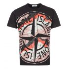 Stone Island T-Shirt - Black / Desert Camo 21879CP 0