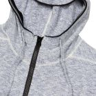 Knitted Hoodie - Light Blue