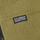 Stussy Fleece – Olive 21055CP -3
