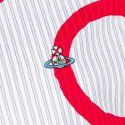 Vivienne Westwood Shirt - Blue Stripe / Red 21124CP -4