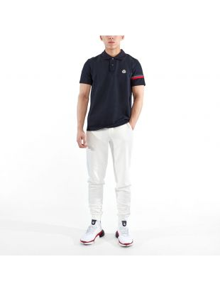 Polo Shirt Stripe - Navy