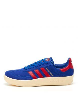 adidas Originals Barcelona Trainers   FX5642 Blue / Red