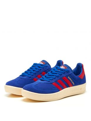 Barcelona Trainers - Blue / Red
