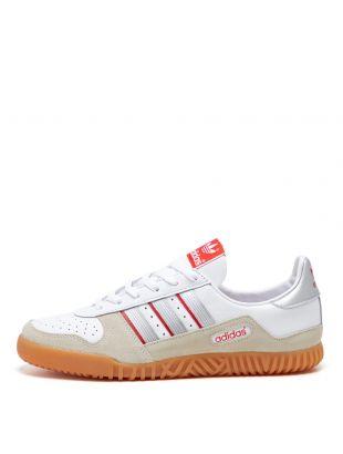 adidas Originals Indoor Comp Trainers   FX5661 White / Silver