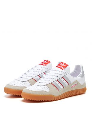 Indoor Comp Trainers - White / Silver