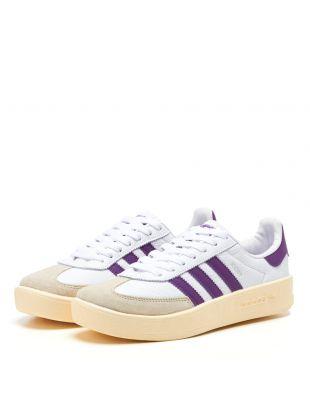 Madrid Trainers - White / Purple