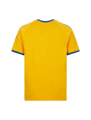 3 Stripes T-Shirt - Gold / Blue