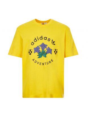 Adidas Emblem T-Shirt | GD5607 Yellow | Aphrodite