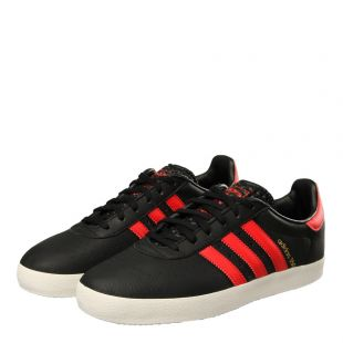 350 Trainers - Black/Red