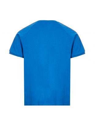 3 Stripes T-Shirt - Royal Blue Italia