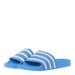 Adilette Slides - Light Blue