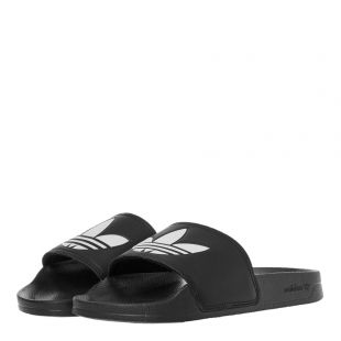 Adilette Slides – Black / White
